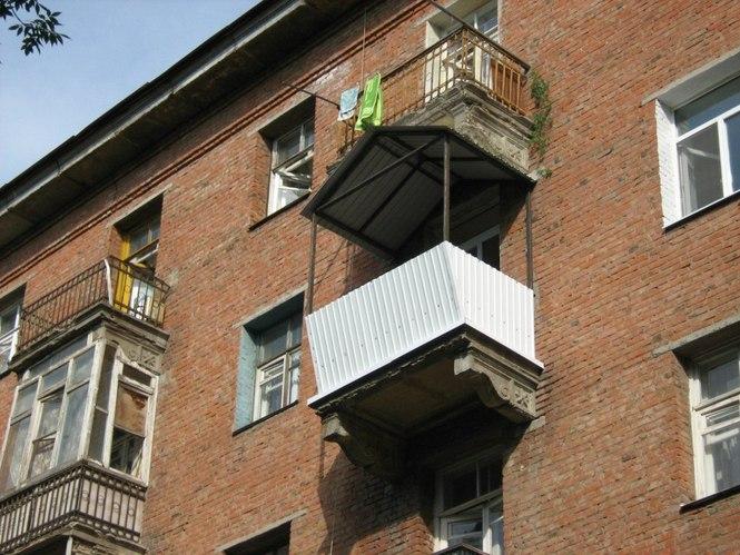 Балкон под ключ - вынос балкона.